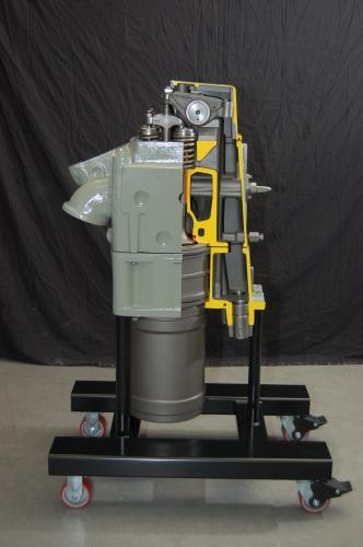 Diesel Locomotive Power Assembly