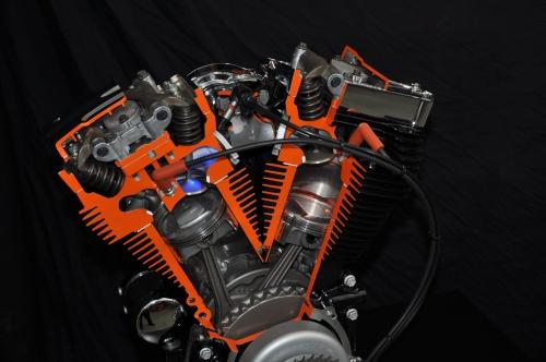 Harley Davidson Twin Cam Screamin' Eagle 110 Engine