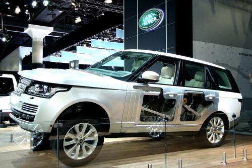2013 Range Rover At LA Auto Show