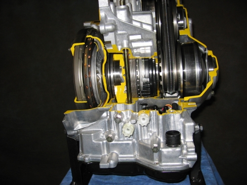 Nissan Xtronic CVT Continuously Variable Transmission Transaxle