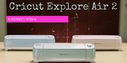 A tutorial introduction with 3 Cricut Explore Air 2 machines