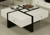 7 Black And White Coffee Tables For A Modern Living Room ...
