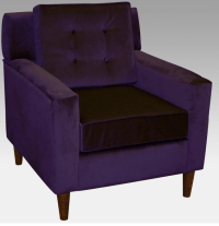 7 Contemporary Purple Arm Chairs For Your Living Room ...