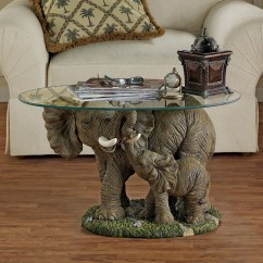 Indian Traditional Living Room Interior Design Wood 7 Unique Coffee Tables With Sculpture Base - Cute Furniture