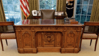 The Story of the White House POTUS Desk