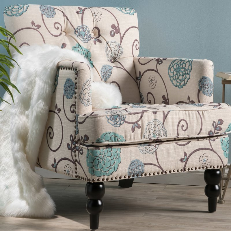 floral arm chair pc desk and top 7 armchairs for any living room cute furniture souders tufted armchair