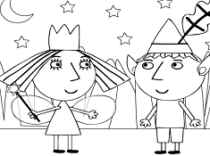 Ben And Holly Coloring Pages Coloring Pages