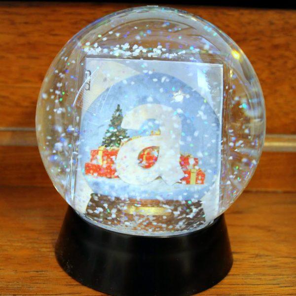 Snow Globe Gift Card