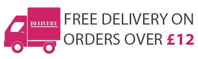 FREE DELIVERY OVER £12