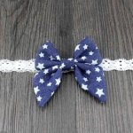 Denim Dark Star Bow
