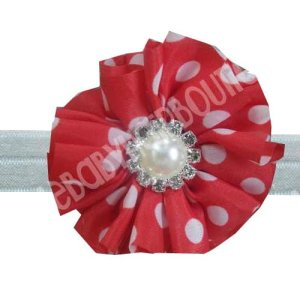 Red toddler headband