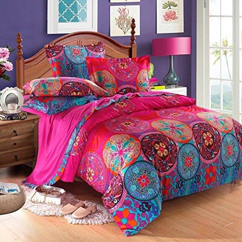 Boho Bedding And Duvet Sets, Jewel Tone Bedding