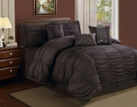 Top 10 Rich Chocolate Brown Comforters for a Luscious Bedroom!