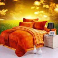 10 Fun Bright Orange Comforters and Bedding Sets!