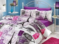 10 Stunning Eiffel Tower Paris Themed Bedding Sets!