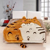Adorable Cat Print Comforters and Bedding Sets for Cat Lovers!