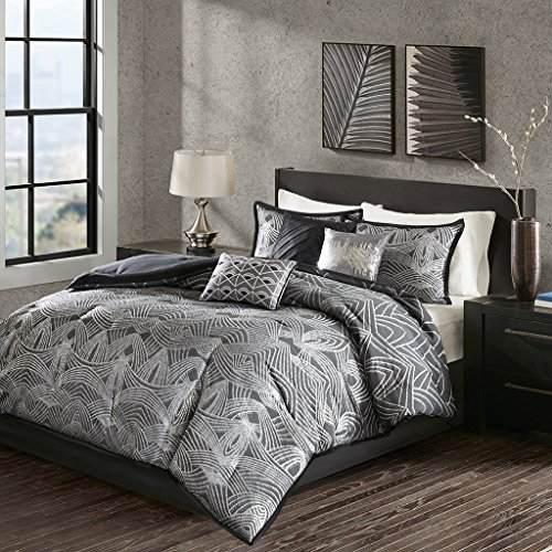 silver comforters and bedding sets