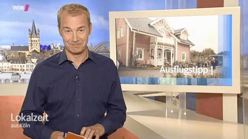 Das Rosa Haus als Ausflugstip in der WDR Lokalzeit