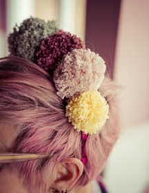 PomPom Haarband