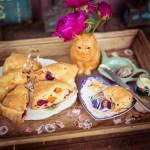 Aprikosen und Himbeer Scones