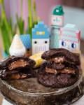 Nuss-Nougat-Creme Schoko Cookies