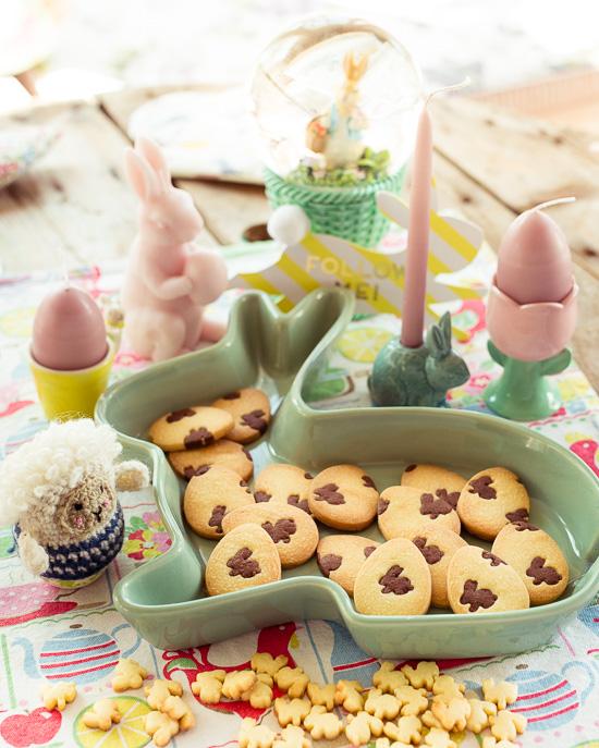 So sehen die Kekse fertig aus