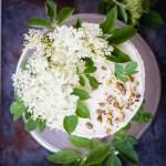 Zitronen-Holunderblüten Kuchen