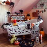 Halloween Badezimmer