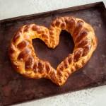 Challah Brot Herz
