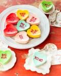 Valentinstag Herzcheesecake