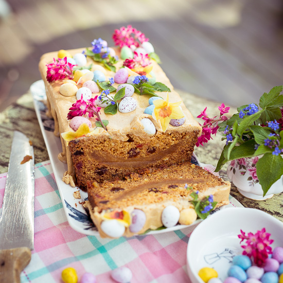 Diesen Simnel Cake gibt es in England traditionell zu Ostern