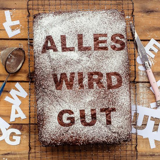 Mit dem Kuchen wird alles gut