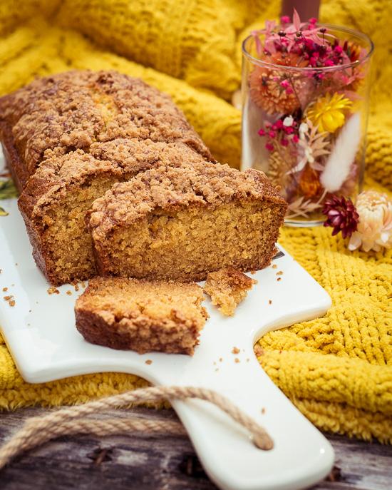 Herbstliches Pancake Bread