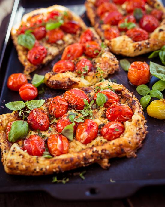 Heute gibt es Mittags bei uns Tomatentartes