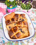 Hot Cross Buns als French Toast