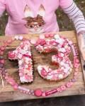 Zahlenkuchen 13. Geburtstag