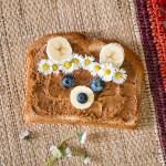 Bärentoast zum Frühstück