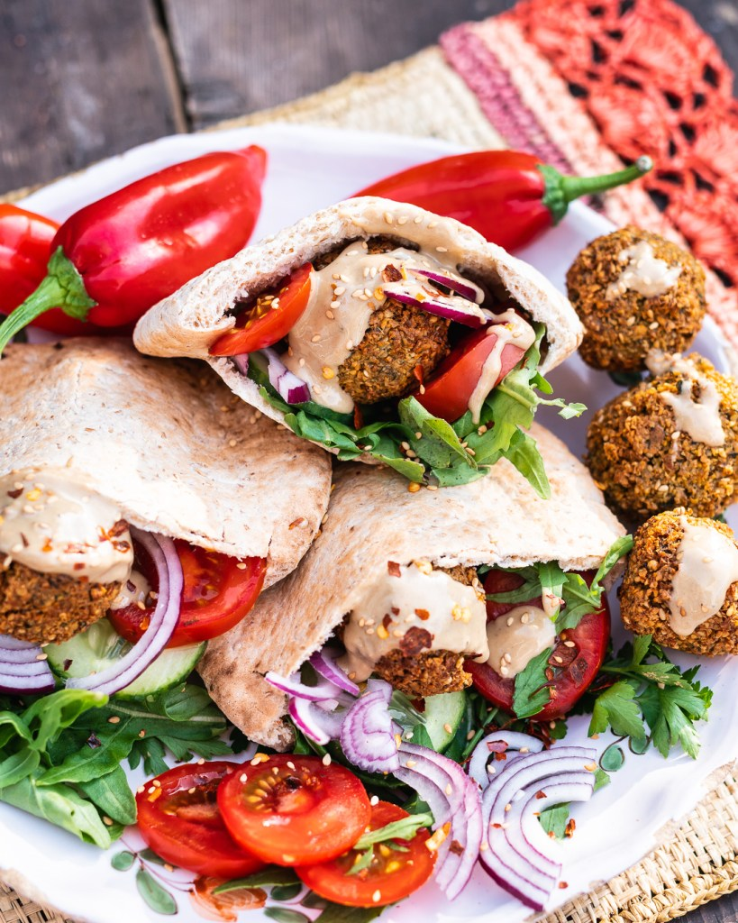 Selbstgemachte Falafell