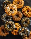Schaurige Halloween Donuts