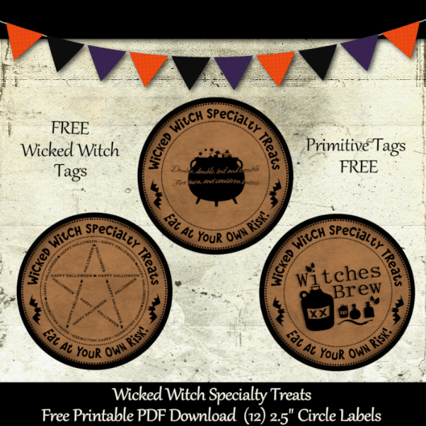 Wicked Witch Spell Tags
