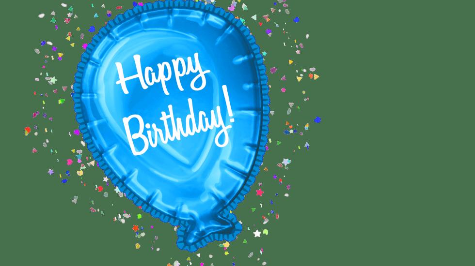 happy birthday balloon clipart free download