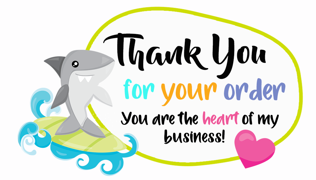 Thank You For Your Order Shark