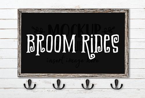 Broom Rides SVG