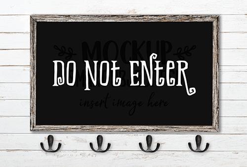 Do Not Enter SVG Cut File