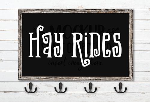 Hay Rides SVG Cut File