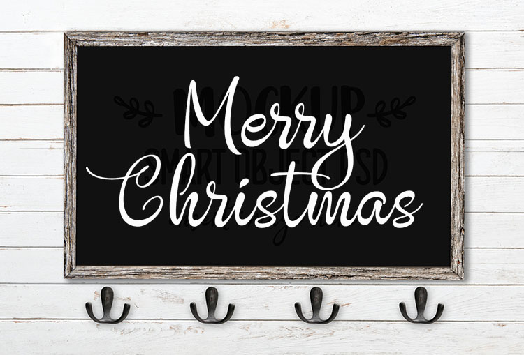 merry christmas svg word art angelique