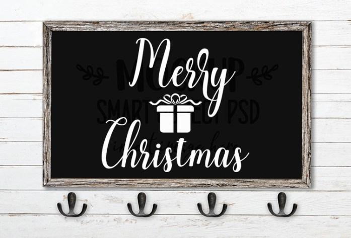 merry christmas svg word art angella