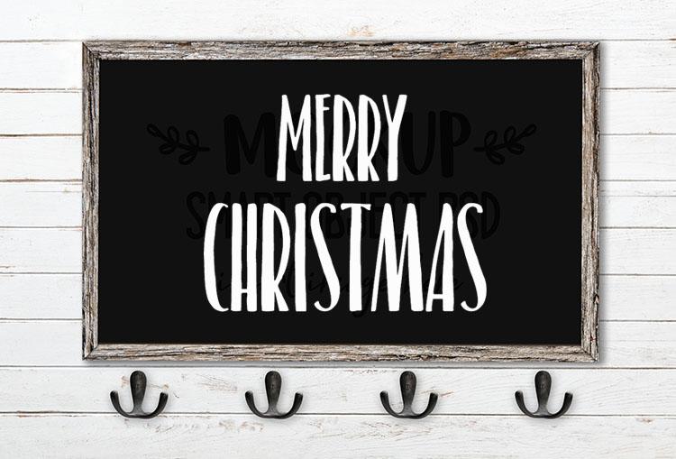 merry christmas svg word art belacu