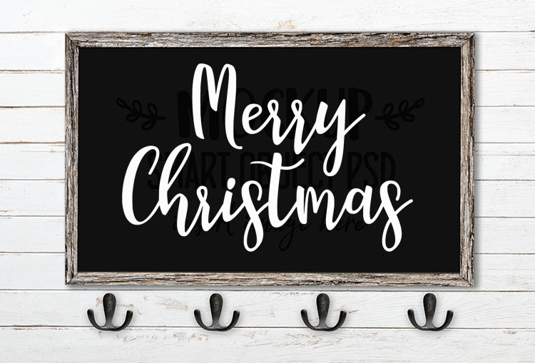 merry christmas svg word art manda