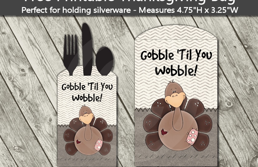 gobble til you wobble printable thanksgiving